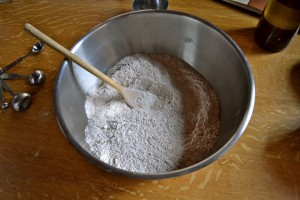 flours and salt