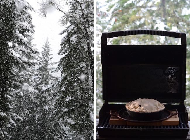 snow-pie