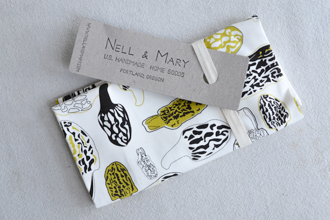 morel tea towel from Nell & Mary