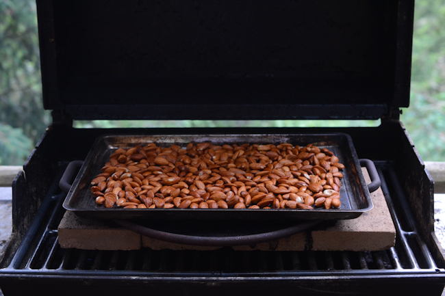 barbecue roasted almonds // Wayward Spark