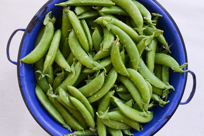Peackles (lacto-fermented sugar snap peas)