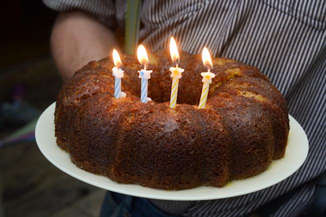 bundt birthday cake // Wayward Spark