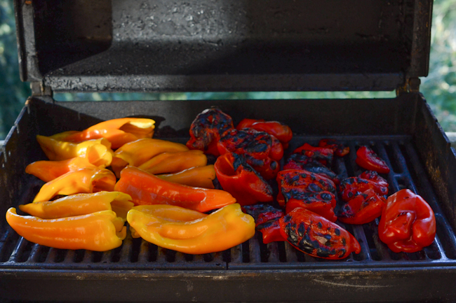 roasted peppers // Wayward Spark
