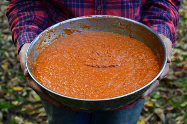 sweet pepper romesco // Wayward Spark