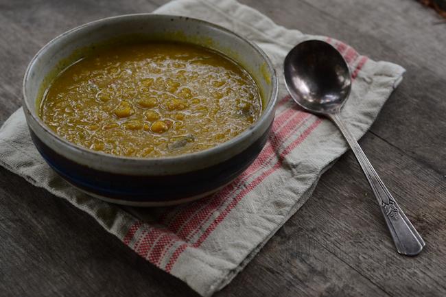 curry-coconut milk squash soup // Wayward Spark