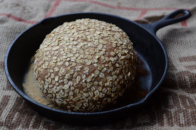 oat bread // Wayward Spark