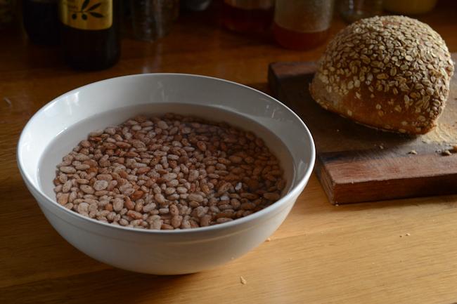 soaking beans // Wayward Spark