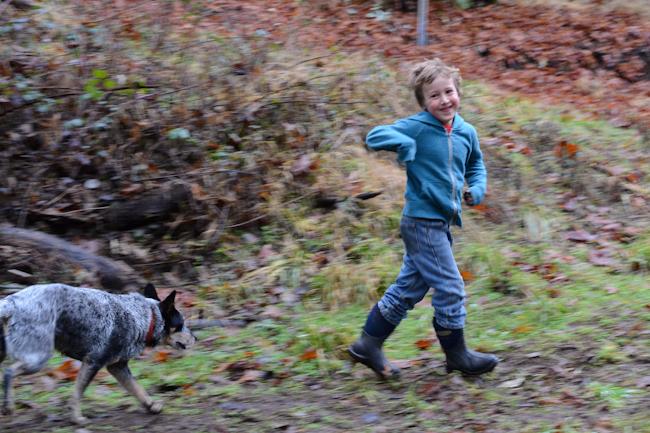 kid running // Wayward Spark