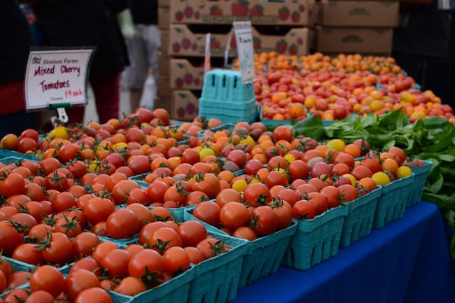 cherry tomatoes // Wayward Spark