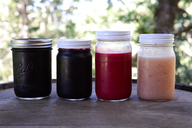 honey sweetened currant syrup // Wayward Spark