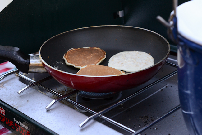 camping pancakes // Wayward Spark