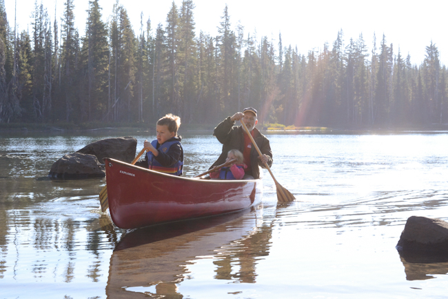 canoeing // Wayward Spark
