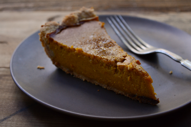 "squash-honey ""pumpkin"" pie // Wayward Spark"