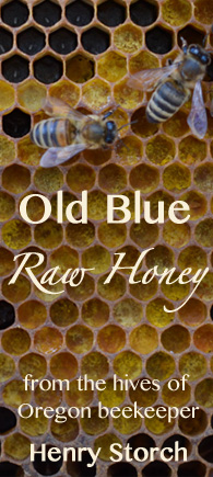 Old Blue Raw Honey